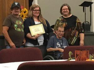 Photo of Joseph, Melissa, Trent, and Nancy P