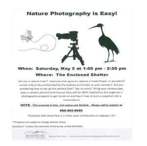 Nature Photography Flyer
