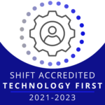 Shift Accredited Technology first logo